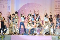 Miss Centre of Asia show staged by Vyacheslav Dongak