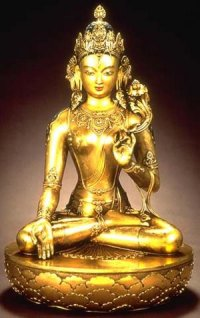 21 statues of Goddess Tara arrived to Tuva from Nepal