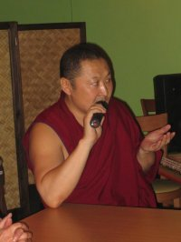 Doctor of Buddhist philosophy, author of popular stories for children visited Tuva