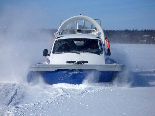 Переправой в Тутаеве будет служить судно на воздушной подушке.