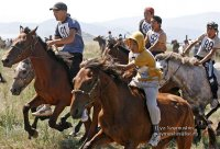 The 18th season of horse races opens in Tuva