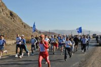 В Туве в марафонском забеге на призы ТРО «Единой России» приняли участие более 40 человек