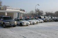 Автопарк тувинской полиции пополнился сразу 19 единицами новой техники