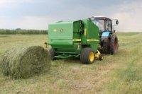 В Туве кампания по заготовке грубых кормов практически завершена
