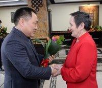 Глава Тувы встретился со знаковыми женщинами республики