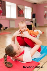 Фитнес-мама в Туве: Привести себя в форму