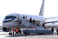 В Туву прибыли первые пассажиры прямого авиарейса Москва – Кызыл