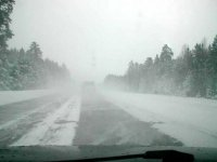 Синоптики прогнозируют 1 октября в Туве мокрый снег