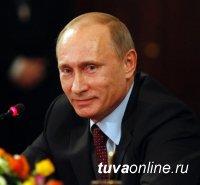 Шолбан Кара-оол поздравил Президента России Владимира Путина с Днем рождения