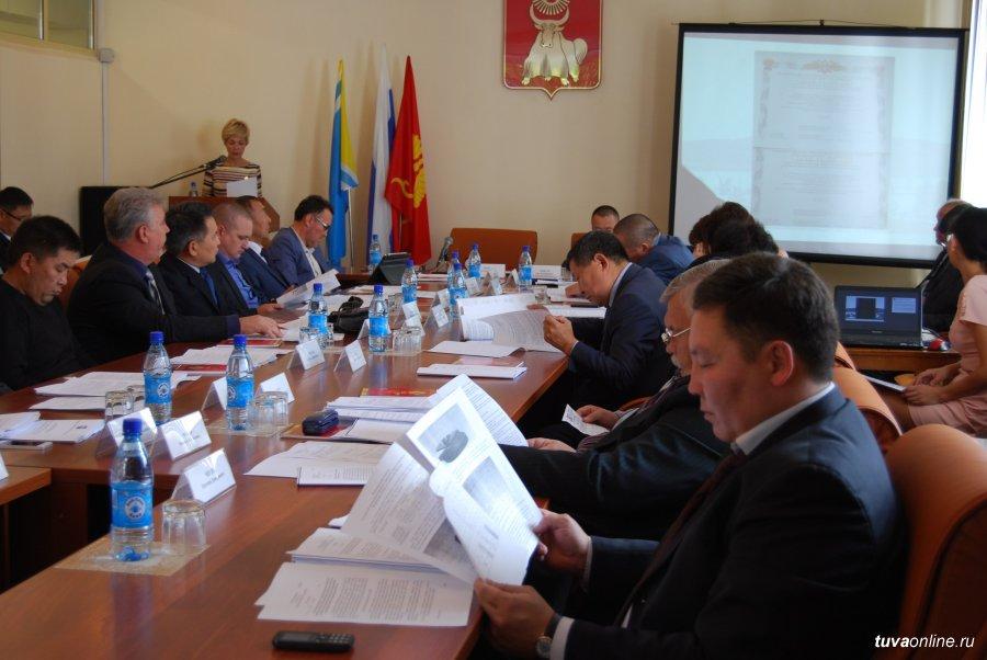 Глава Кызыла отчиталась о проделанной за год работе