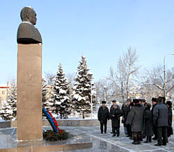 Памятник Салчаку Токе. Фото Виталия Шайфулина