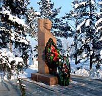 Памятник руководителю Тувы Салчаку Токе. Фото Виталия Шайфулина
