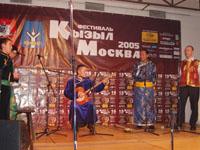 Аян-оол Сам и Георгий Белецкий. Фото Чимизы Ламажаа