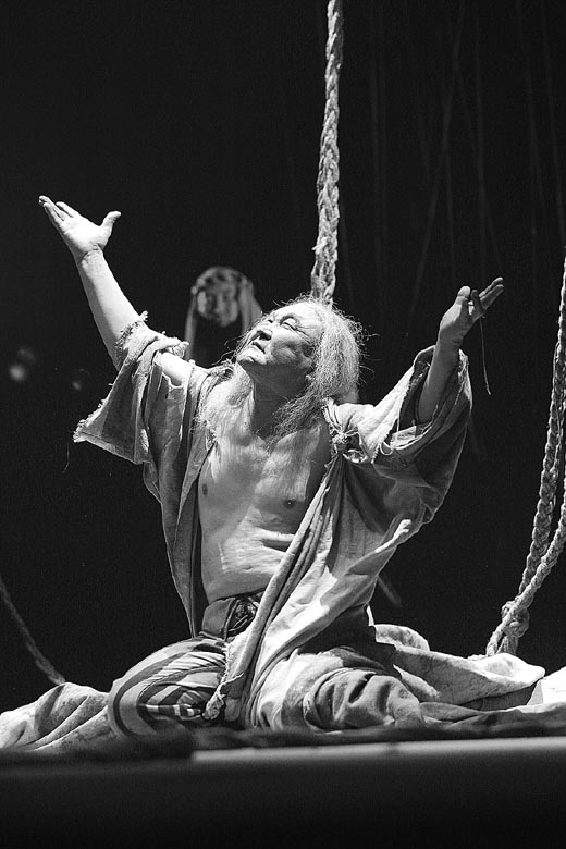 King Lear by Tuvan Theatre