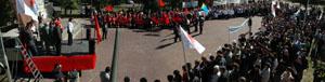 Митинг против административного произвола в пользу Единой России в Туве. Фото Виталия Шайфулина