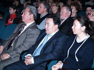 Чылгычы Ондар и Чечен Чоксум. Фото предоставлено отделом по работе с молодежью МДН