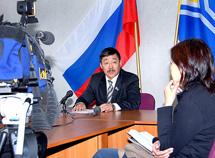 Анатолий Дамба-Хуурак, депутат Законодательной палаты Великого Хурала Тувы. Фото Виталия Шайфулина