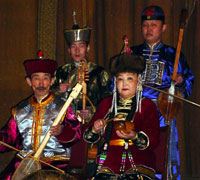 'Ene-Say' group from Tuva