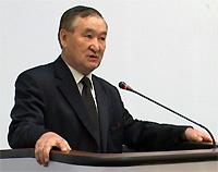Хонук-оол Монгуш избран Председателем Палаты Представителей Великого Хурала Тувы. Фото пресс-службы правительства