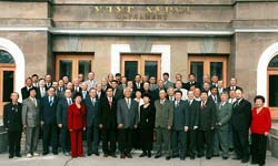 Members of the 1st perestroika parliament. Courtesy of the 'Risk-Inform' news-paper