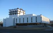 Здание Тувмуздрамтеатра. Фото Юрия Попкова