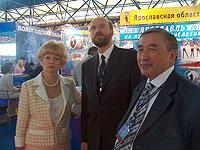 Людмила Нарусова, Сергей Пугачев, Шериг-оол Ооржак. Фото с сайта пресс-службы правительства