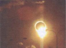 Работа Онера Ондара. Солнечное затмение в Туве