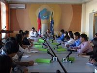 Встреча со студентами. Фото пресс-службы правительства