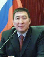 Василий Оюн, председатель Законодательной палаты Великого Хурала Тувы. Фото пресс-службы парламента.