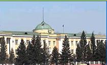 Здание Великого Хурала парламента Тувы. Фото сайта Законодательной палаты.