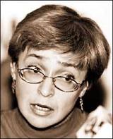 Анна Политковская. Фото сайта Новая Газета