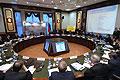 Совещание по вопросам социально-экономического развития субъектов Федерации Сибирского федерального округа. Фото пресс-службы Президента России
