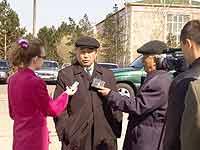 Шериг-оол Ооржак комментирует итоги московской командировки. Фото с сайта правительства Тувы