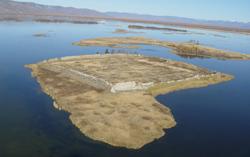 Уйгурское городище на озере Тере-Холь