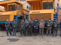 Водители угольного разреза Каа-Хемский (Тува) получили новую технику. Фото предоставлено пресс-службой разреза