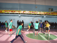 Городской отборочный турнир. Фото предоставлено комитетом по молодежной политике и спорту г. Кызыла