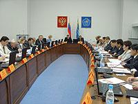 Заседание правительства. Фото пресс-службы правительства Тувы