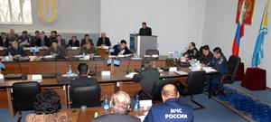 Заседание МЧС. Фото Виталия Шайфулина