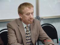 Первый проректор, доктор философских наук, профессор Юрий Прохоренко. Фото пресс-службы правительства