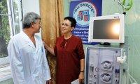 В Туве открыт детский диализный центр