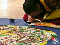 Осенью тибетские монахи построят в Туве мандалу Ямантаки