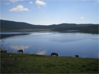 """Milk Bowl"" high in the mountains – lake Sut-Khol – one of the treasures of Tuva"