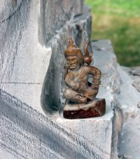 Белек Кужугет - создатель каменных скульптур