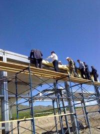Глава Тувы потребовал ускорить темпы строительства фермы в селе Ильинка