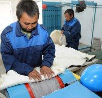 В Сут-Хольском районе Тувы осваивают промышленную обработку шкур