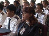 В рядах милиции Тувы пополнение
