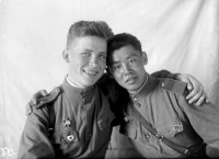 The history of the best known photo from the war years discovered in Tuva