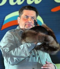 Nikolai Rastorguyev felt like a nomad in Tuva