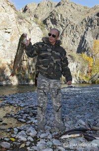 107 new photos of Vladimir Putin's visit to Tuva published
