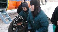 """Паломники доставлены вертолетом в Кызыл, размещены в  профилактории """"Серебрянка"""""""